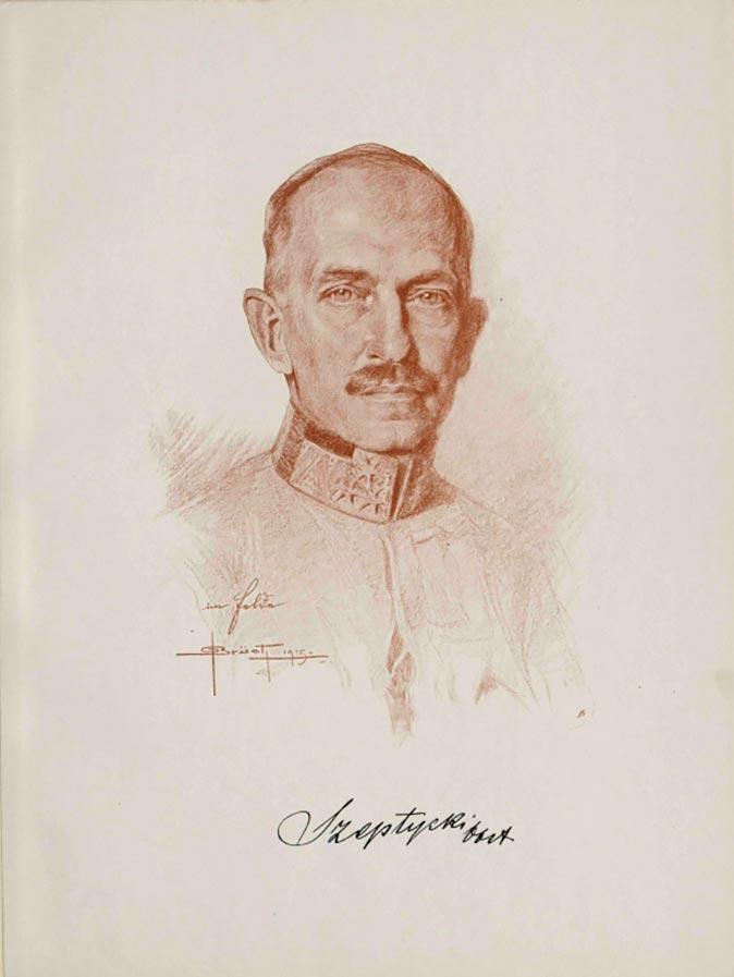 Генерал Станіслав граф Шептицький (1867–1950), брат Митрополита Андрея і бл. свщмч. Климентія