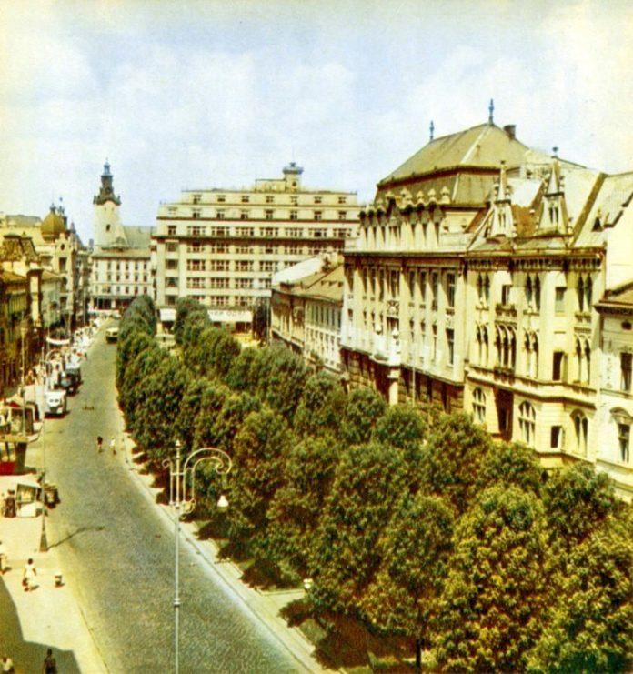 Проспект Шевченка, 1960-ті рр.