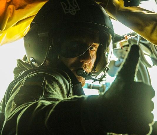 Пілот гелікоптера МІ-24 Олександр