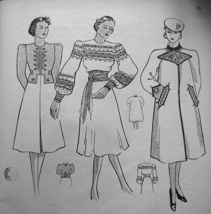 Українська мода на шпальтах «Нової Хати»