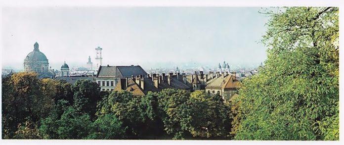 Вид Львова, 1979 р.