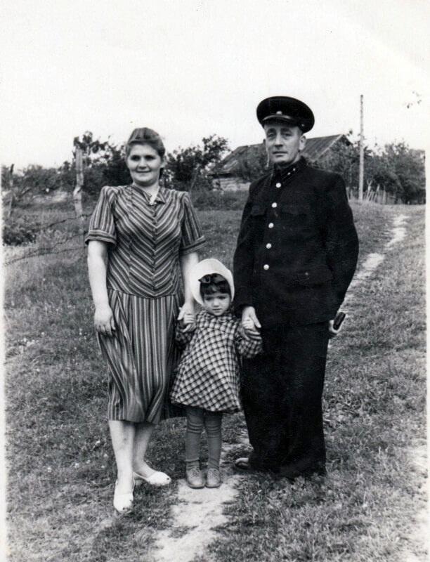 Сім'я Урусових, вул. Садова, 1953 рік