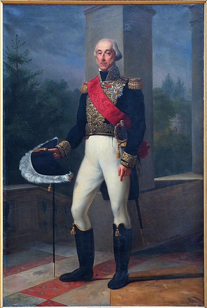 Герцог де Бурбон, картина XIX