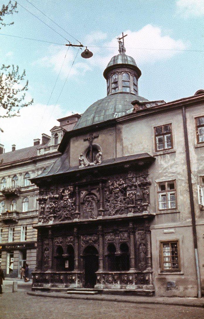 Каплиця Боїмів у Львові, фото 1979 року