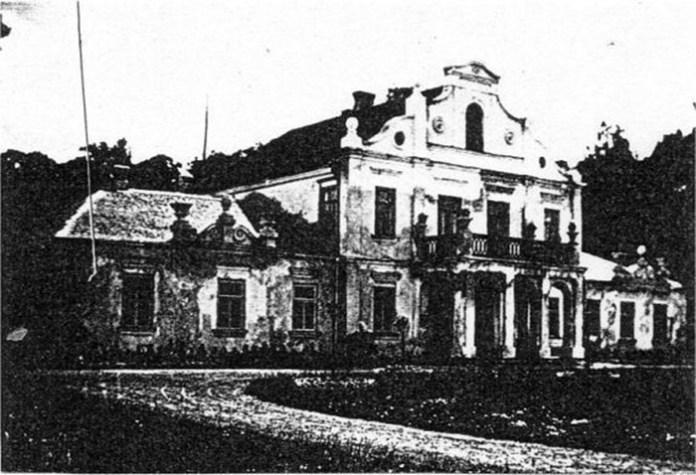 Резиденція де Пурбе в Городці
