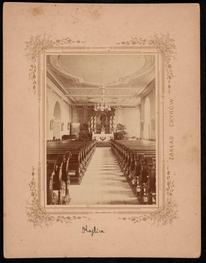 Колегія єзуїтів у Хирові. Каплиця, 1899 р.