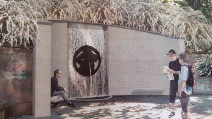 Візуалізація проекту реконструкції фонтану Водолій на вулиці Коперника, 2018 рік. http://tvoemisto.tv