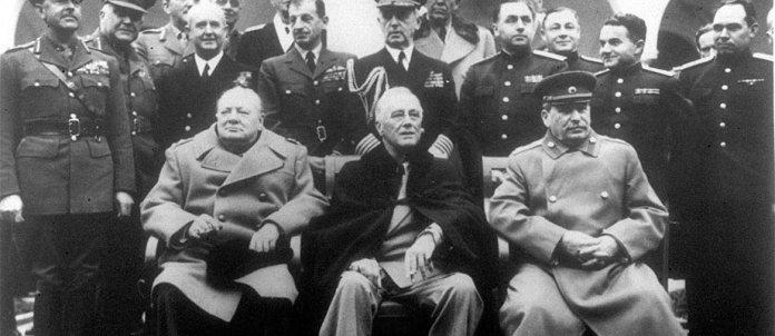 Учасники Ялтинської конференції у 1945 році