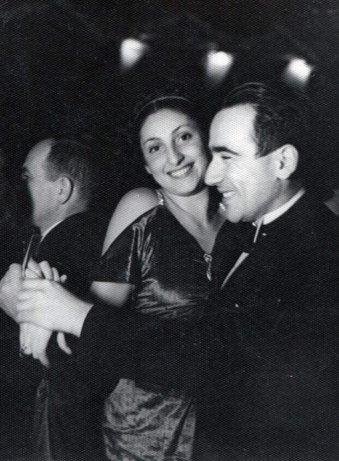 Зузанна Гінчанка імовірно з чоловіком, Варшава, 1937 р.