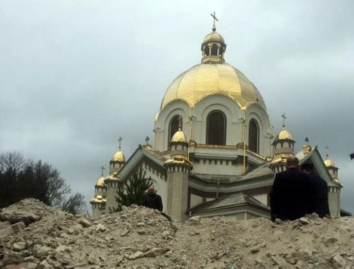 Церква Успення Пресвятої Богородиці у Славському