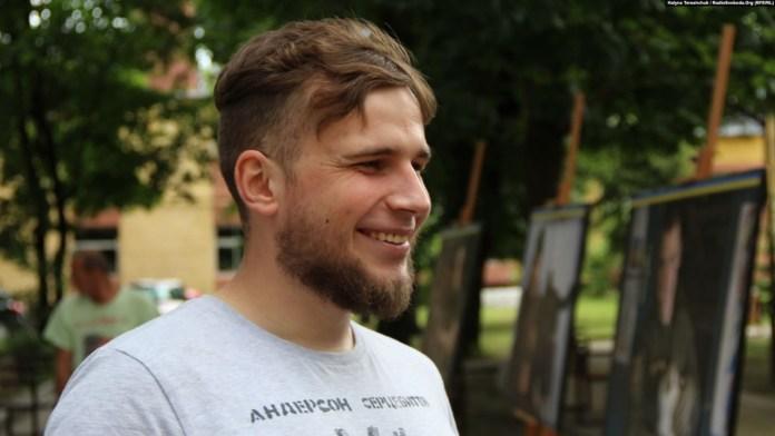 Ігор Єгор. Фото Галини Терещук, Радіо Свобода