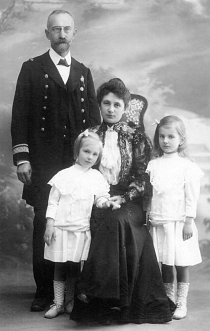 Сім'я Ярослава Окуневського