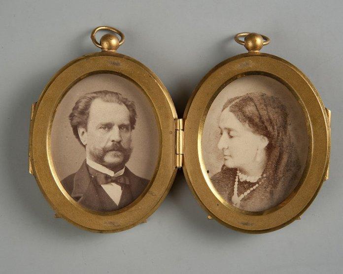Катажина Потоцька із чоловіком Адамом Потоцьким, 1870
