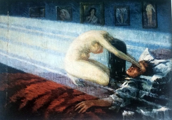 """""""Смерть художника"""". Юліан Буцманюк. 1920 р."""
