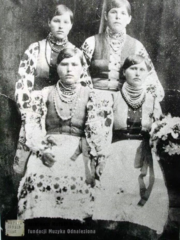 Мешканки села Люхча, Рівненське Полісся. 1930-і рр.