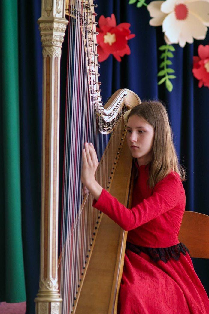 Арфовий концерт за участю дуету Eufonica у складі сестер Мудрик Алісії та Катаріни