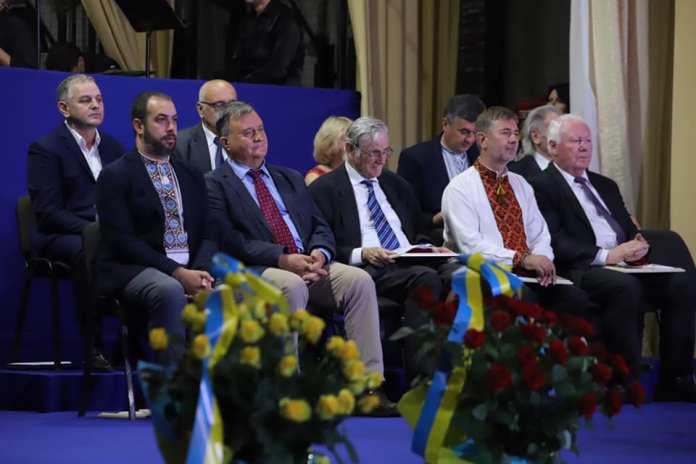 Церемонія нагородження міжнародною премію імені Івана Франка