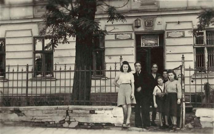Будинок Терлецького на вулиці Сахарова, 52. Фото 1940-их років