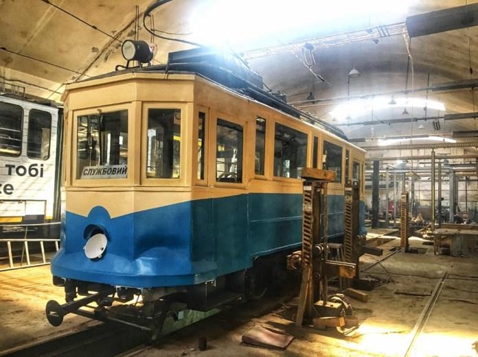 Трамвай Sanok SW1