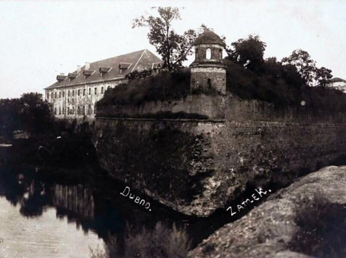 Вид на фортецю і сторожову вежу, фото кінця 1930-х років