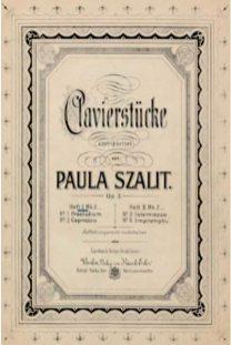 Прижиттєві нотні видання творів Поли Шаліт