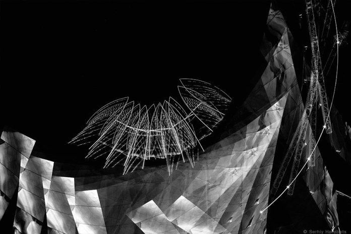 Експозиція виставки сучасної української фотографії «From darknes» Сергія Горобця