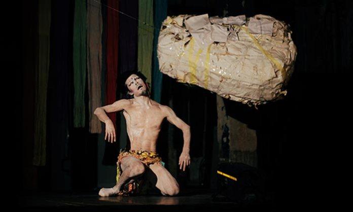 Перфоманс ''Цукерковий вибух'' (Токіо) - актор Такетеру Кудо