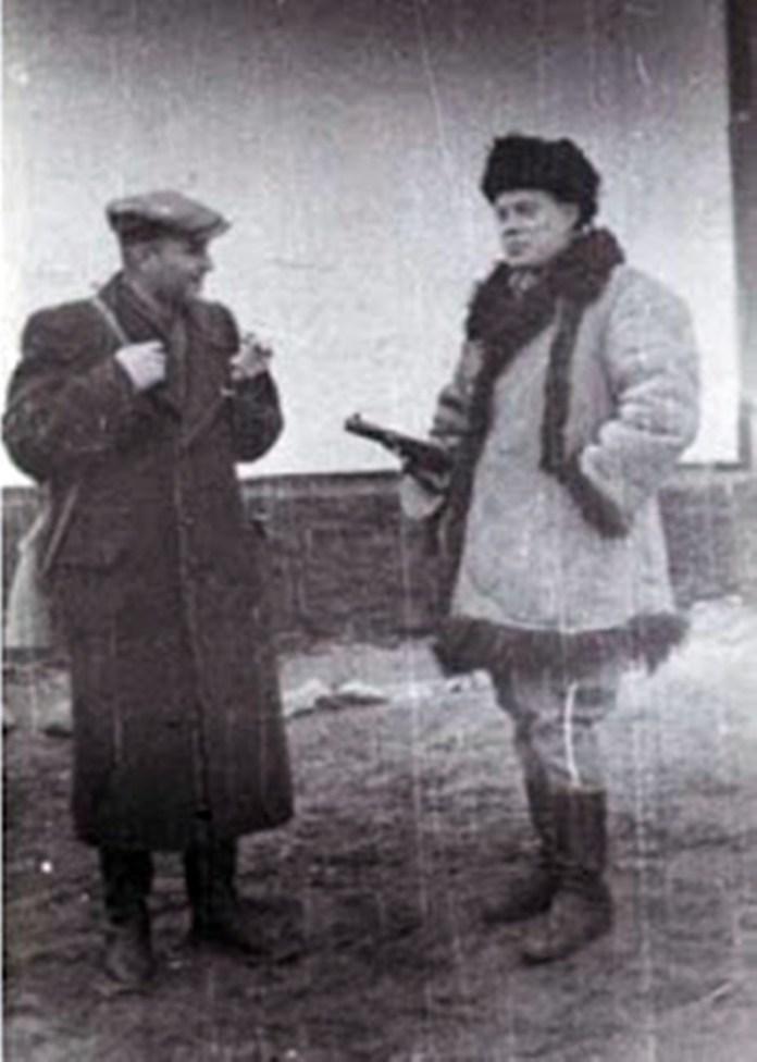 """Шеф СБ Микола Арсенич - """"Михайло"""" (зліва) та Ростислав Волошин - """"Горбенко"""""""