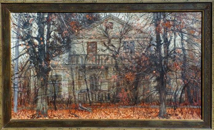 Картина Олександра Гурістюка, надана колекціонером Вадимом Пономаренком