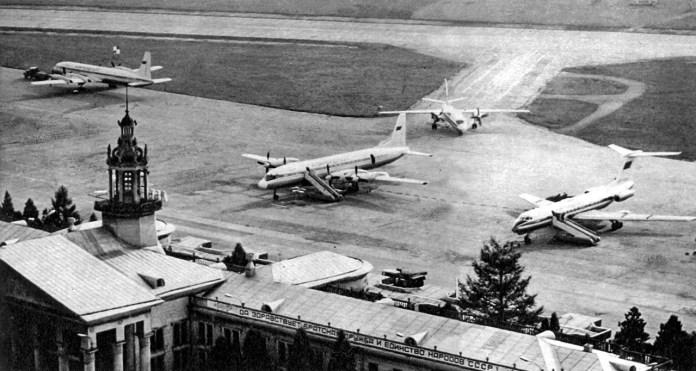 Львівський аеропорт. Фото 1980-их років