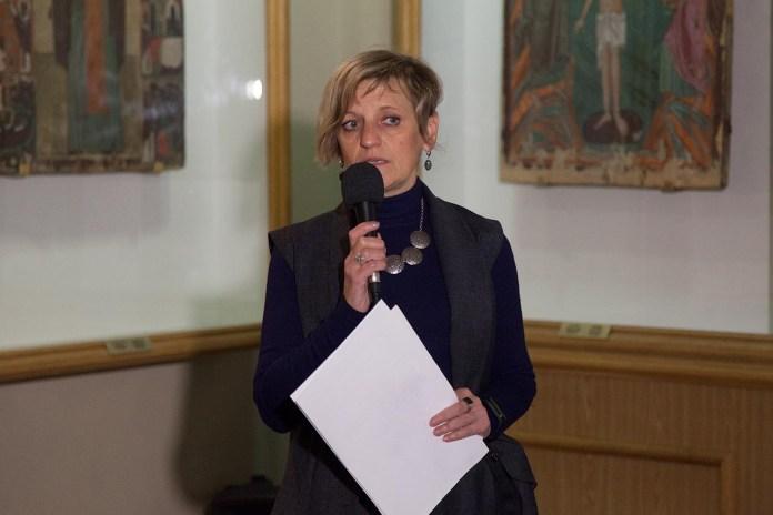 Заступниця Генерального директора Національного музею у Львові імені Андрея Шептицького Оксана Біла