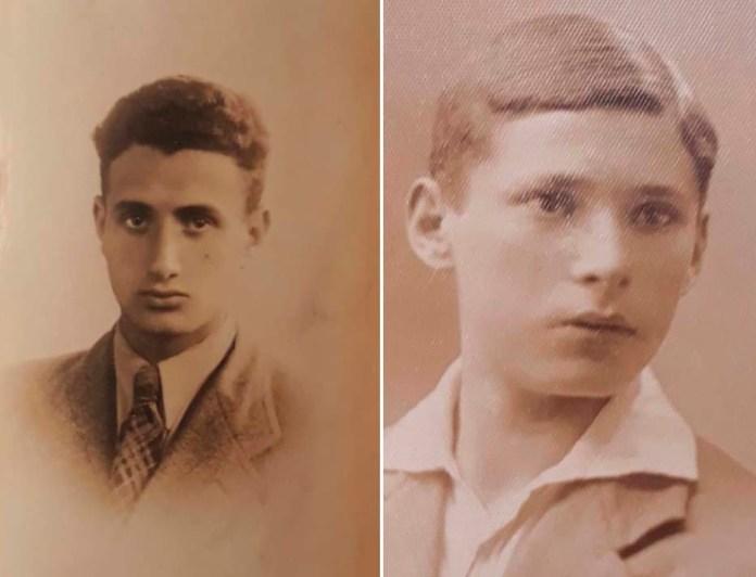 Ліворуч Сегал Ізраель, праворуч Хаїм Гузік