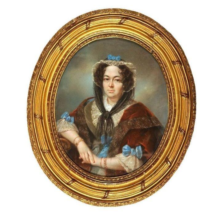 Княгиня Олександра, 1847 рік. Невідомий художник