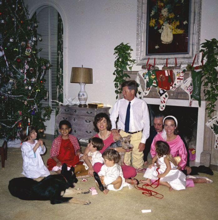 Дві родини Новий рік