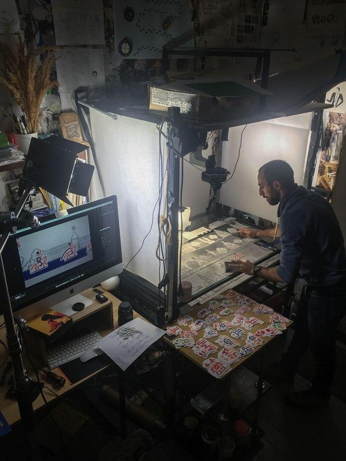 Процес створення анімації для Львівської міської ради