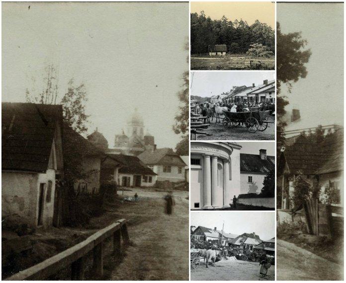 Селище Розділ на столітніх фото