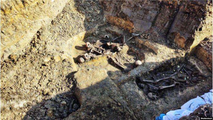 Поховальна яма у Дрогобичі