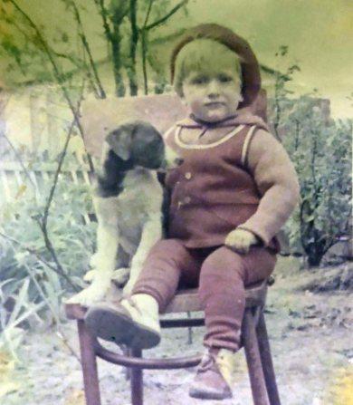 Оксана Юринець у дитинстві