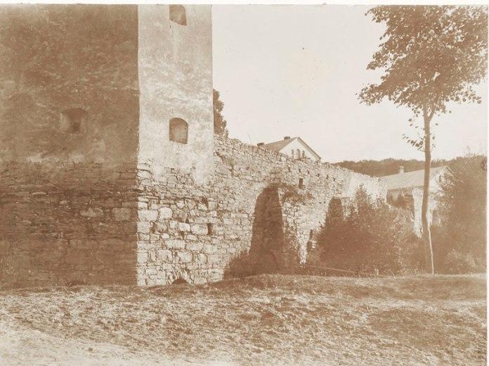 Мури та башти монастиря у Крехові, 1905 р.