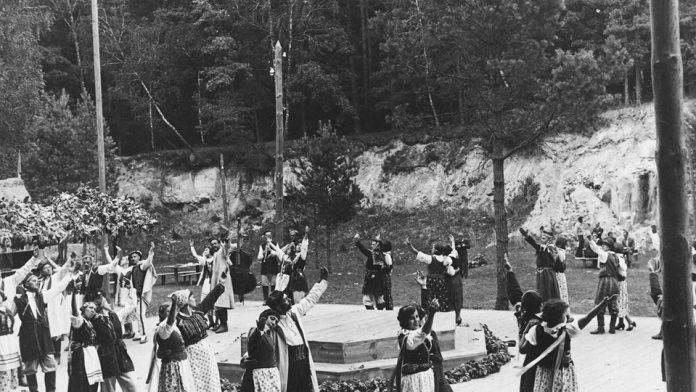Янова Долина, танцмайданчик, 1937 рік