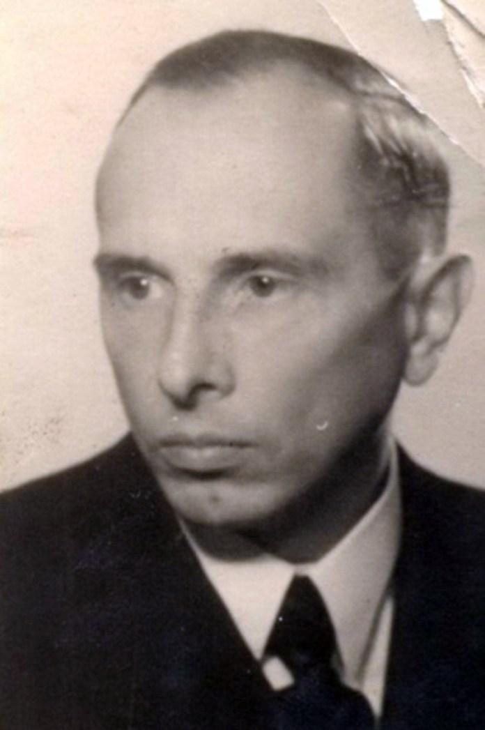 Одна з перших світлин Степана Бандери після виходу з німецького концтабору. Архів ОУН