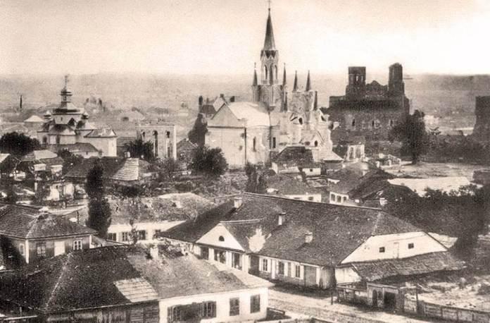 Панорама Острога, 1920-х років