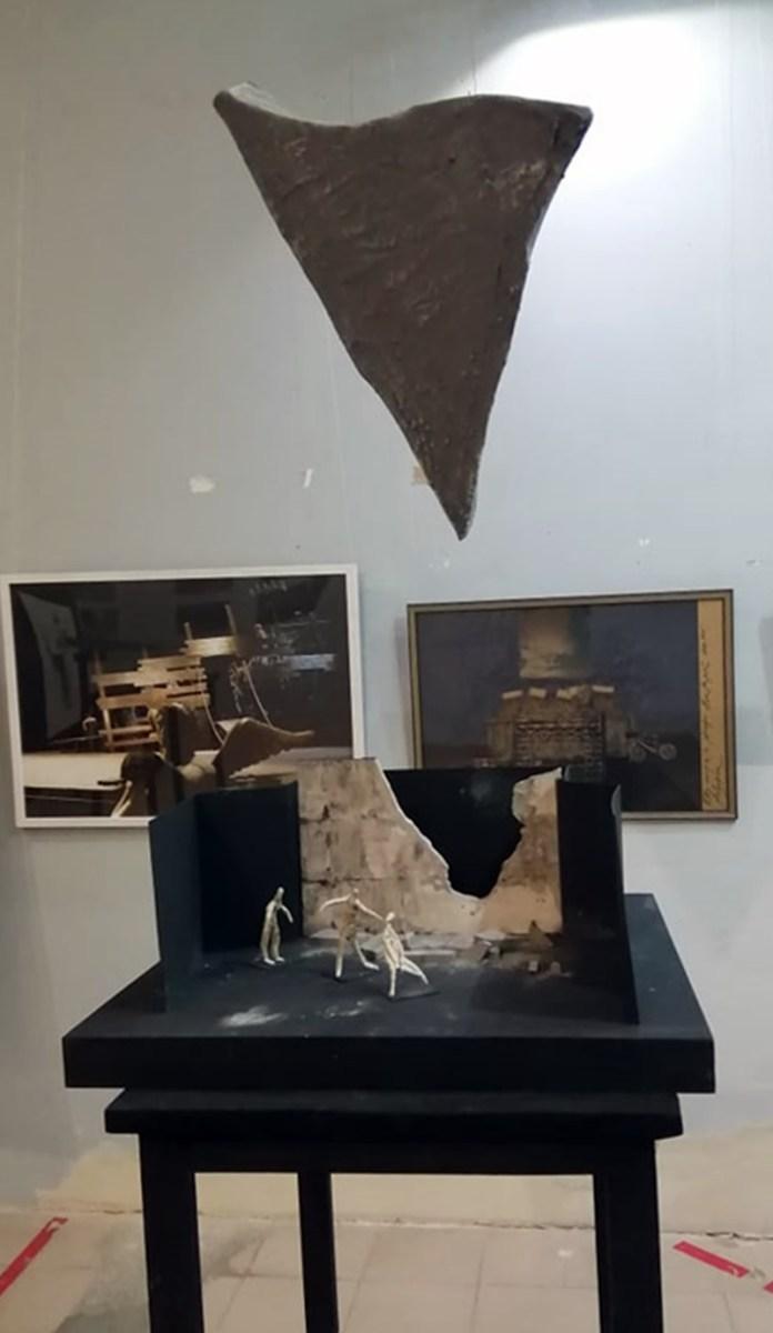 Експозиція виставки «Трієнале сценографії імені Данила Лідера» у Львівській «Галереї сценографії»