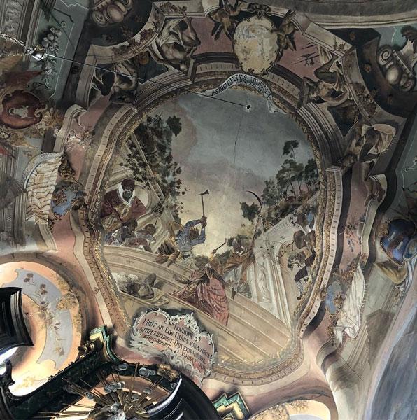 Розписи Тавеллі в Наварії. Фото з http://www.ukrartstory.com.ua/