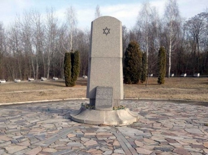 Фрагмент меморіалу в Сосонках