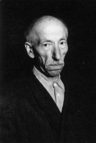 Йосиф Звіринський - батько художника, сер. 1950-х рр.