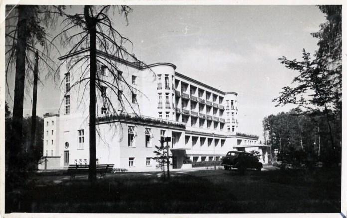 Санаторій в Моршині, 1936 р. Фото: Софія Хоментовська