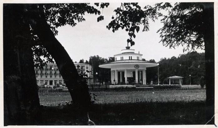 Зона відпочинку в Моршині, 1936 р. Фото: Софія Хоментовська