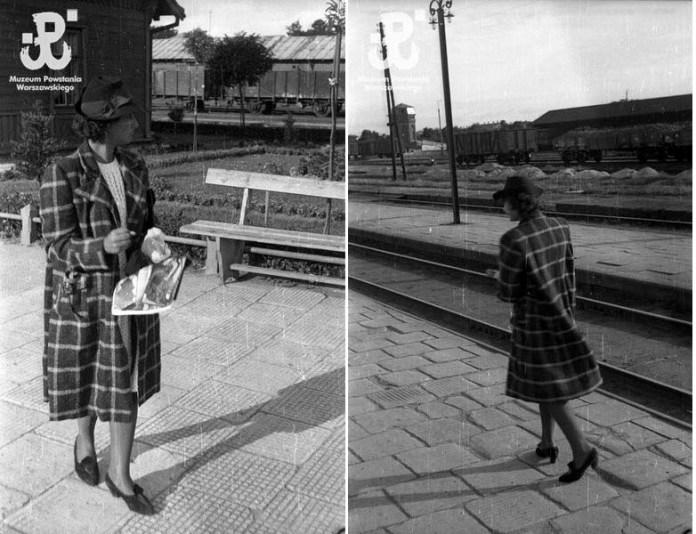На пероні залізничного вокзалу в Рівному. фото Єжи Карпіньского, 1939 рік