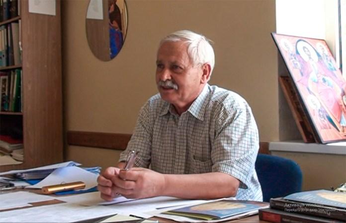 Професор Роман Василик. 2016 р. фото Б. Зятик